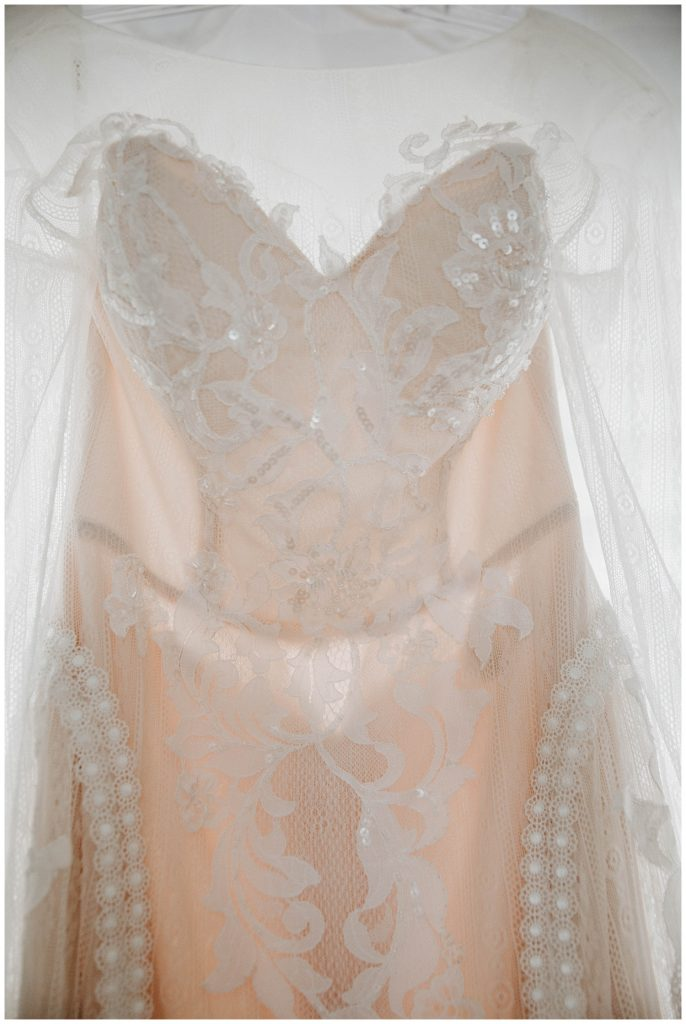 chic nostalgia wedding dress