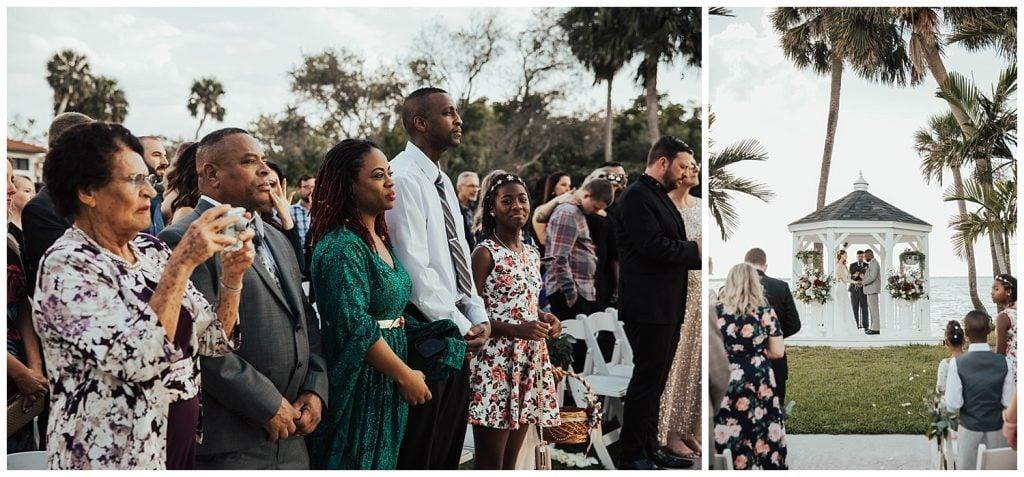 Hutchinson island wedding