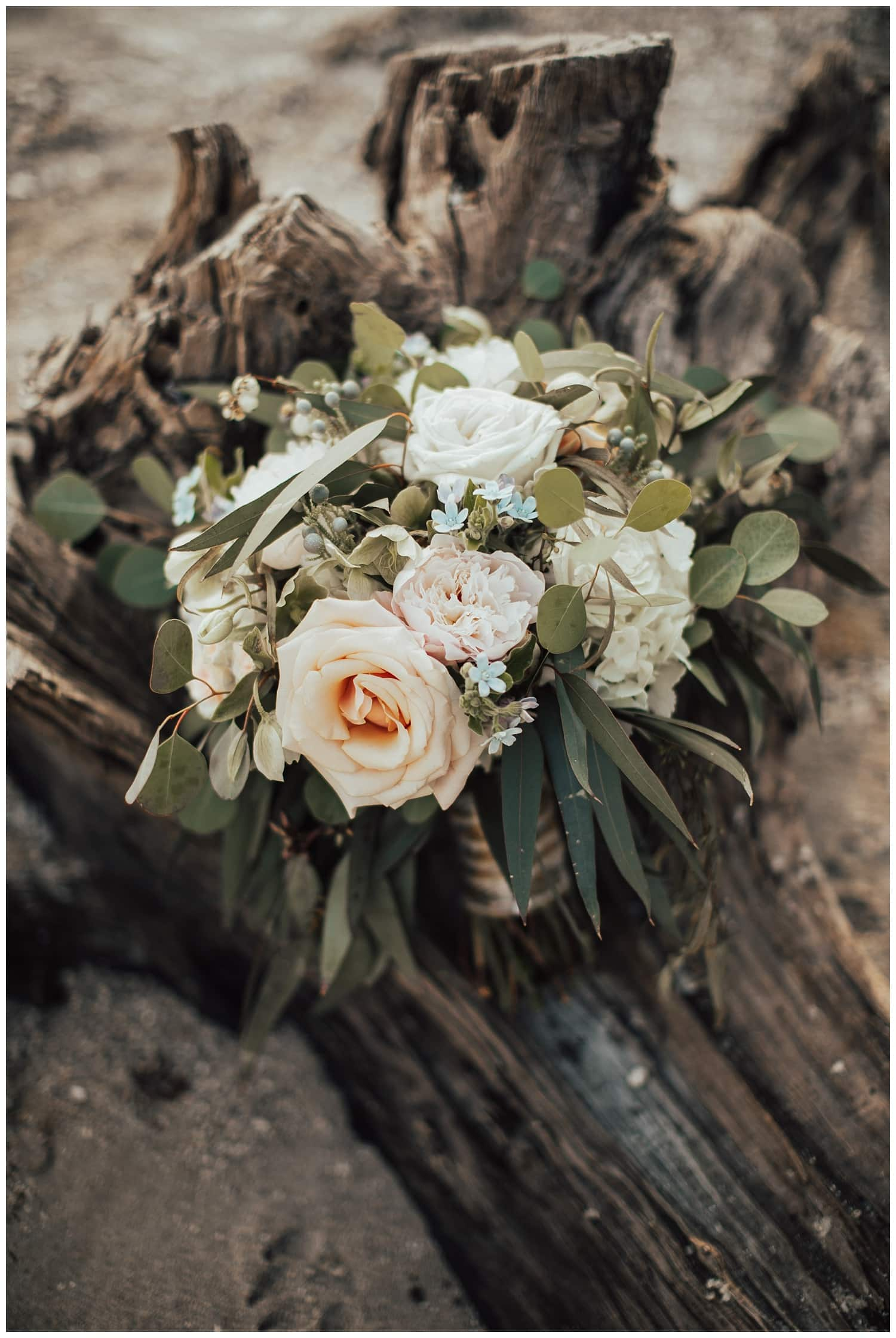 bridal beach bouquet