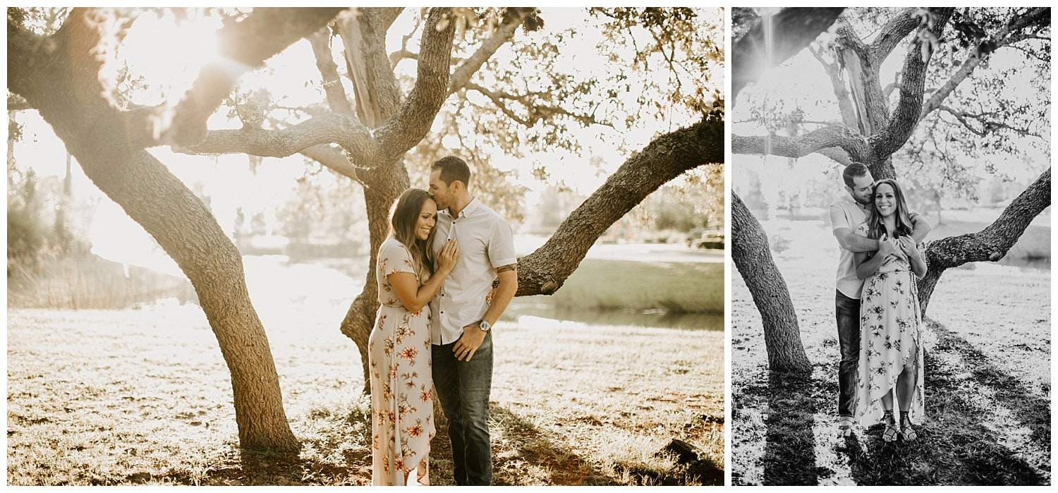 port saint lucie botanical gardens couples photos
