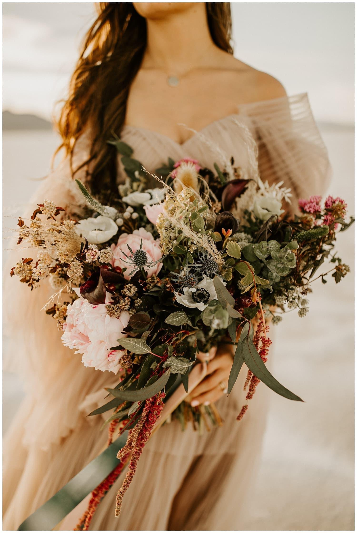dreamy utah elopement, wedding photographers in utah, salt lake city photographers, wish blossom flowers