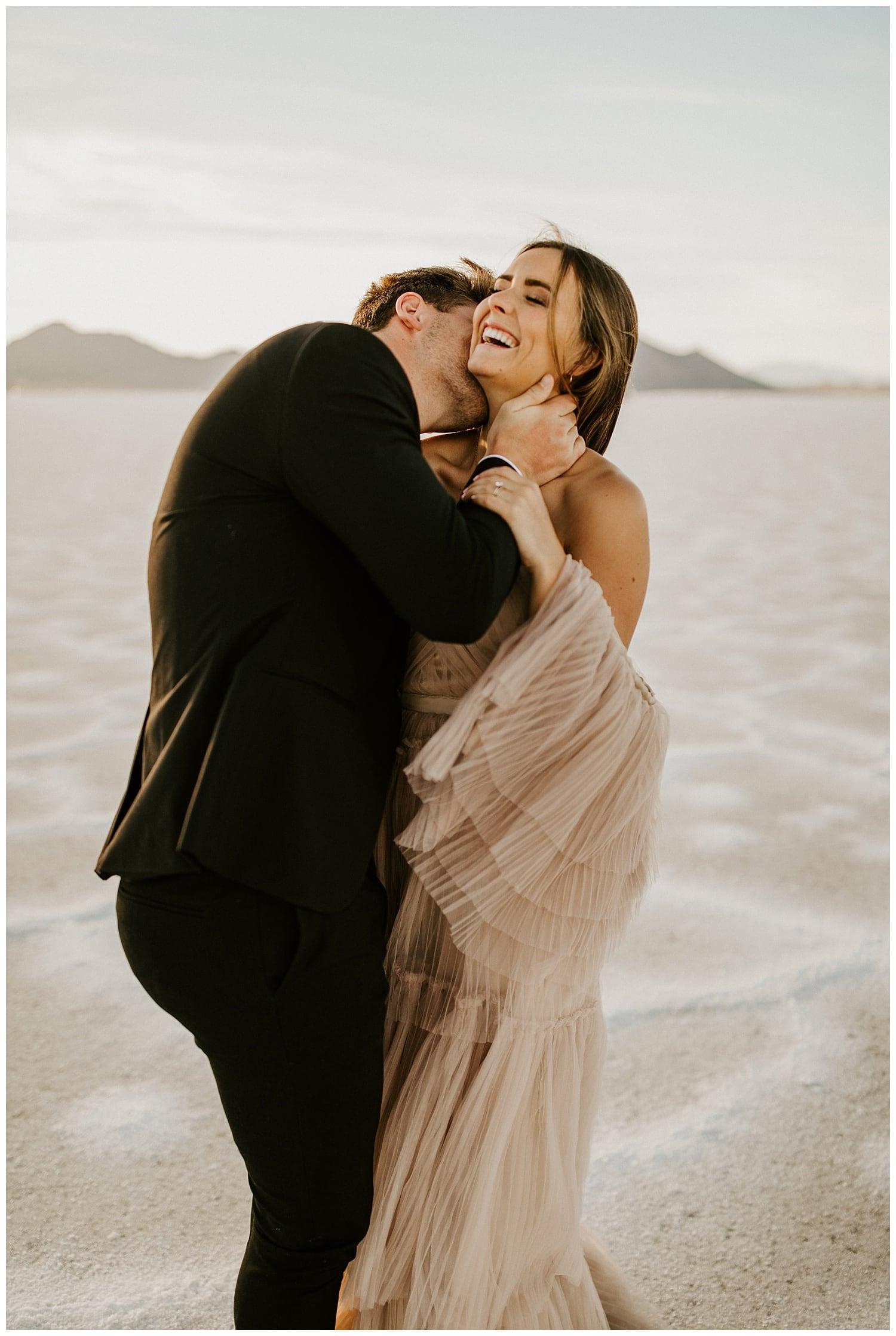 bonneville salt flats elopement, utah wedding photographer, photographers in salt lake city
