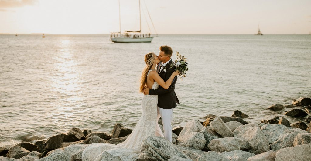 best places to elope in florida, florida beach elopement